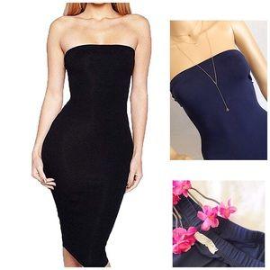 Dresses & Skirts - •Dark Blue Tube Dress•